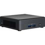 HYSTOU S200 Mini PC i5 8300H Barebone Quad Core Win10 DDR4 Intel UHD Graphics 630 4.0GHz Mini Desktop PC SATA mSATA MIC VGA HDMI 1000M WIFI