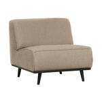 Vincent Sheppard Anton Fauteuil - Outdoor Lounge Chair - Beige - Inclusief Kussenset