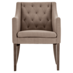 Fauteuil stof beige CHESTERFIELD