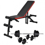 Body-Solid GAB300 Semi Recumbent Ab Bench