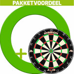 Kinder safety dartbord incl 6 darts