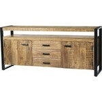 Dressoir FLASH 5 lades wit