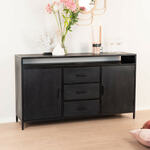 Eleonora Madison Light Dressoir 220 cm Naturel Acaciahout