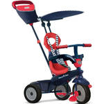 smarTrike Swing DLX 4 in 1 driewieler Junior Rood