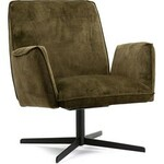 Tower Living Bomba Fauteuil 95 cm Groen Stof