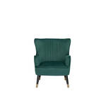 Eleonora Charlotte Fauteuil 78 cm Groen Polyester