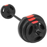 Multi Squat Rack belastbaar tot 260kg + 40 kg halterset - Gorilla Sports