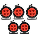 PD Connex Stage Wheel 24-in 4-out XLR 50 meter