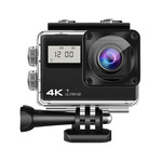 AT-Q61CR 4K Ultra HD action camera IPS Wifi + Sony lens + Remote