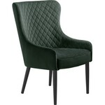 Label51 fauteuil james leer grijs 80 x 60 x 73