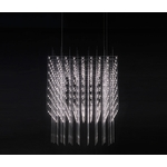 Catellani & Smith - Jackie O Chandelier 15 LED hanglamp Nikkel
