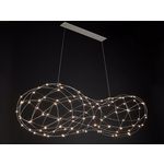 Catellani & Smith - Jackie O Chandelier 24 LED hanglamp Nikkel