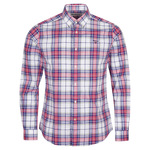 HEMA Heren Overhemd Tailored Fit Wit (wit)