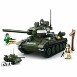 Sluban robotkoning Land Force junior 28 cm groen 448 delig