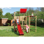 Jungle Gym | Hut + Playhouse 125 | DeLuxe | Geel