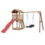 Jungle Gym | Farm + Mini Picnic | DeLuxe | Rood
