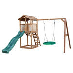 Jungle Gym | Villa + Balcony Module | DeLuxe | Blauw