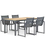 Lifestyle Ultimate/Weston 90 cm dining tuinset 5-delig