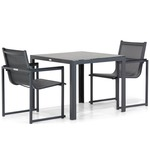 Lifestyle Ultimate/Weston 160 cm dining tuinset 5-delig