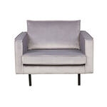 BY-BOO Vice Relax Fauteuil - Fluweel Oud Roze