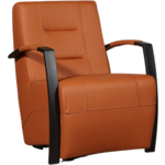 Bloomingville Fauteuil Bloom Zwart 78 x 55 x 46