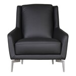 Vincent Sheppard Joe Lounge Lloyd Loom Fauteuil - Zwart Staal Black-Wash