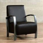 Vincent Sheppard Joe Lounge Lloyd Loom Fauteuil - Zwart Staal Any Ral Color